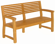 Aquarius Bench – Teak Garden Furniture