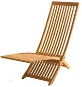 Outdoor Teak Patio Furniture – Adjust Lounger