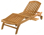 Outdoor Patio Furniture -Modern Chaise Lounge