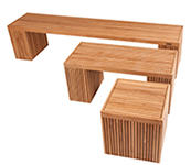 Linear Benches by AspenTeak