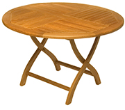 Outdoor Furniture – Round Folding Table