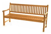 Borneo Classic Bench – Teak Patio Furniture