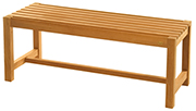 Teak Benches – Charleston Bench