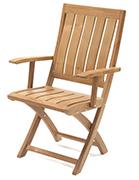 Strato Folding Teak Chair
