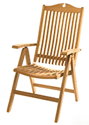 Teak Outdoor – Empire Reclining Chair