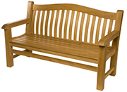Surrey Estate Bench – Teak Patio Furniture Houston