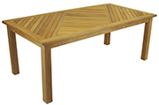 Teak tables – Cannes Dining Table