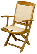 Cannes Folding Chair – Outdoor Teak Furniture