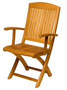 Teak Seeting Chairs by AspenTeak