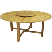 Round Classic Table – Aspen Outdoor Teak Furniture